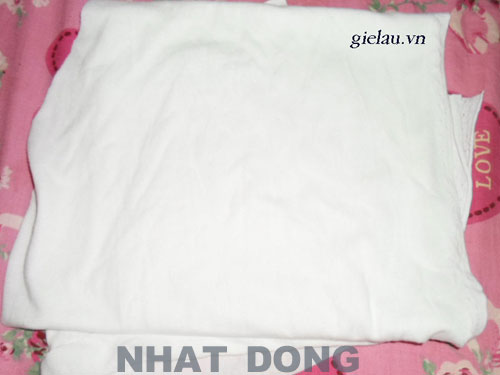 vai lau cotton trang
